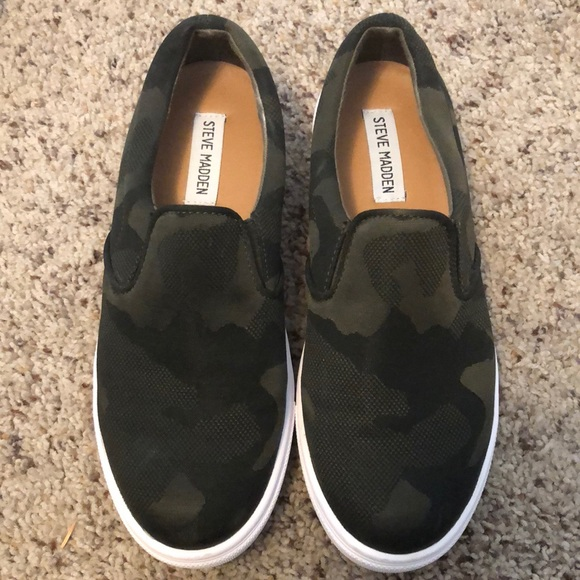 4b2f5e0ad81 Steve Madden camo ecentric sneakers